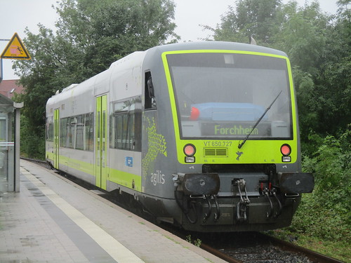 Agilis VT650.727 at Ebermannstadt
