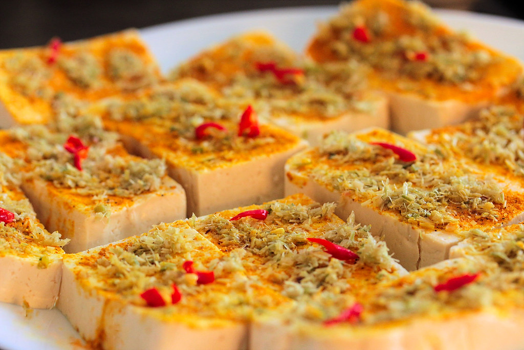 Lemongrass turmeric tofu prep | Plated Palate