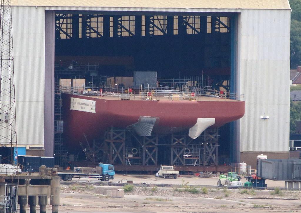 Survey ship Hull 07/09/17    North West Air News