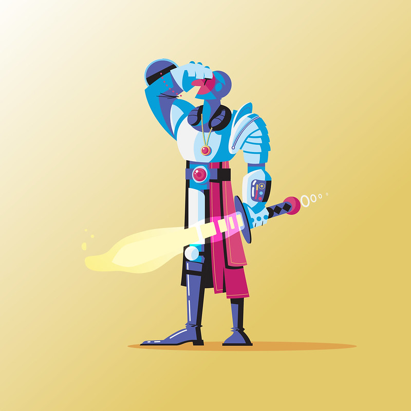 Day 225: Space Knight