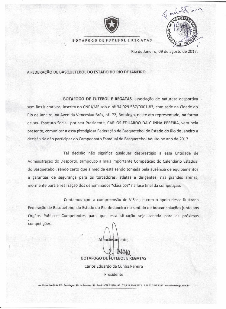 Documento - FBERJ