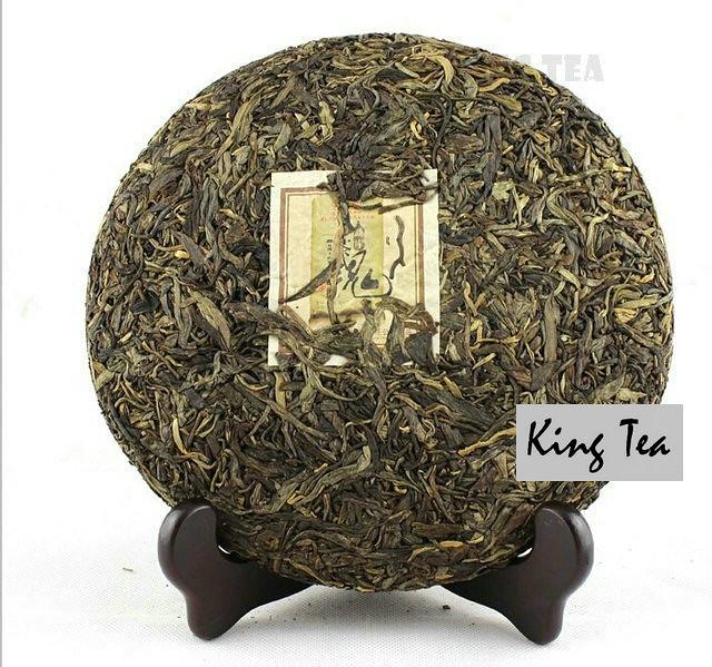Free Shipping 2011 ShuangJiang MengKu Tea Spirit Cake 500g China YunNan MengHai Chinese Puer Puerh Organic Raw Tea Sheng Cha
