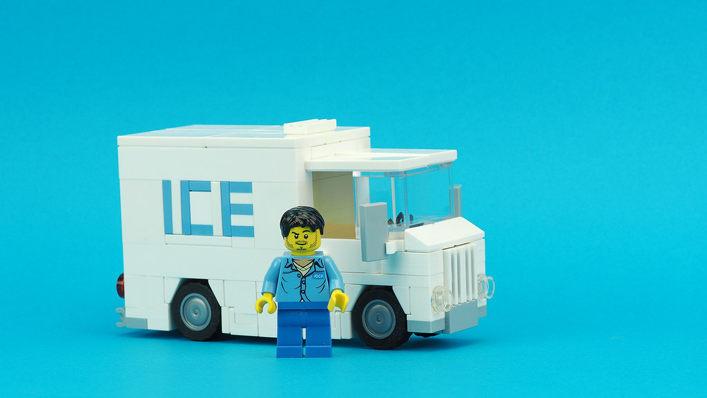 Ice Delivery Truck