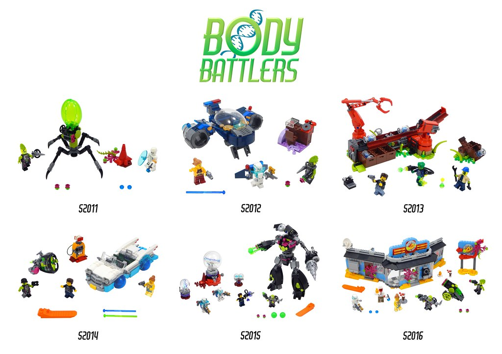 Body Battlers Complete Series