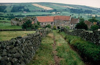 1990 Danby Castle from the south