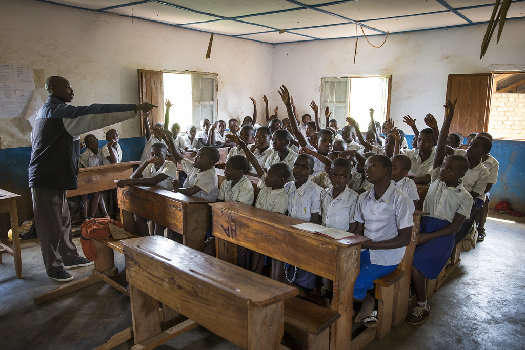 Goed onderwijs voor kinderen in Congo