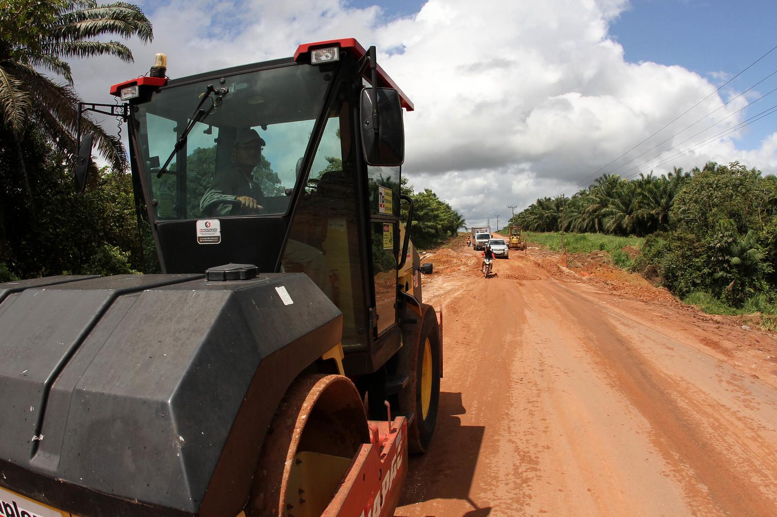 Rodovias do sudeste do Pará serão recuperadas pela Setran, Foto do dia.