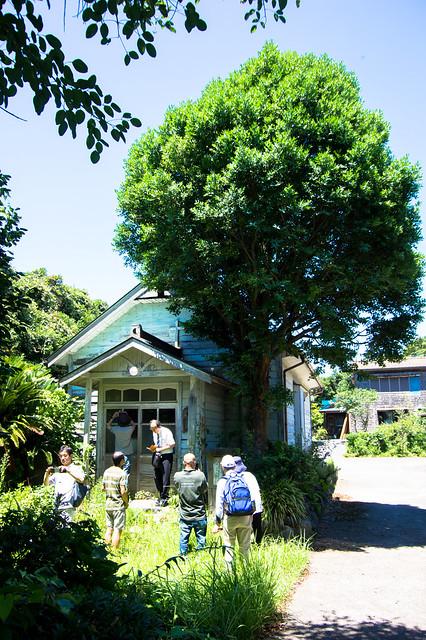 移設された大島元村教会の旧会堂