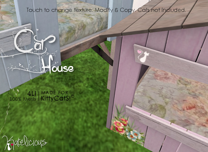 [Katelicious] Cat House - SecondLifeHub.com