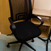 Ex demo new stock mesh swivel chair E65