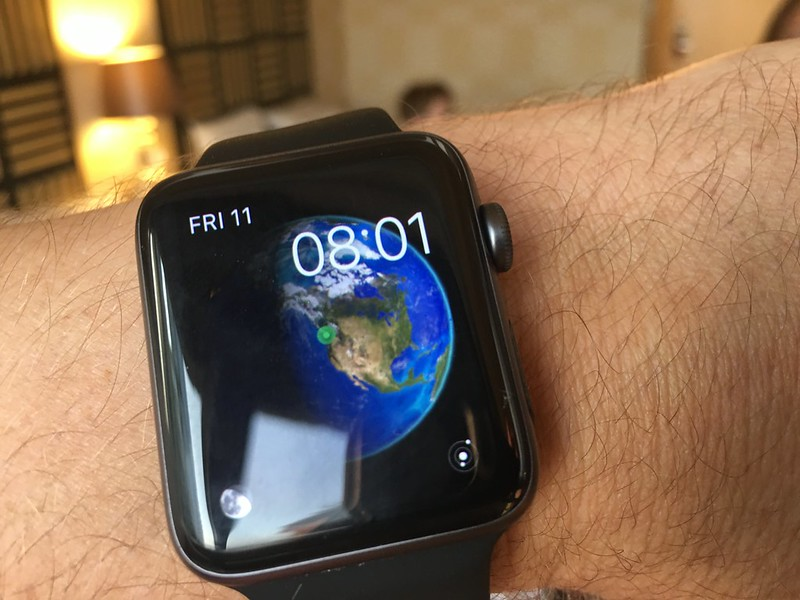 Apple Watch knows we have arrived