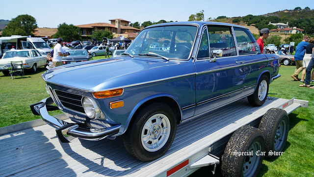 1973 BMW 2002tii offered by BringATrailer.com at Legends of the Autobaun 2017