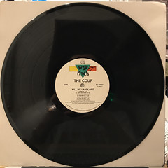 THE COUP:KILL MY LANDLORD(RECORD SIDE-A)