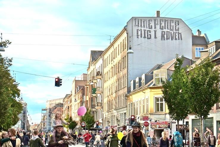 Car Free Day Nørrebrogade, Copenhagen September 17th 2017