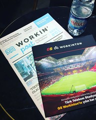 @workinton @galatasaray @hayatsu @refsproduction #workinton #Galatasaray #HayatSu #AdvisedByRefs #Levent #Levent199 #ZorluHolding #İstanbul #Türkiye #coworking #coworkingspace #coworkinglife