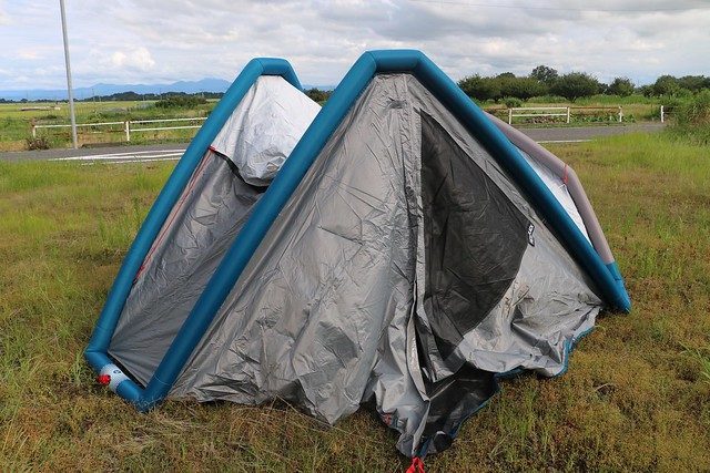 デカトロン テント キャンプ