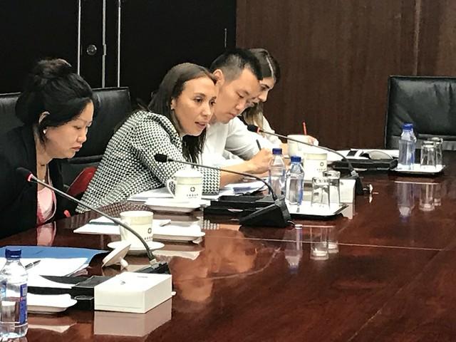 ChileWeek: reunión con Viceministro de comercio de China, Yu Jianhua