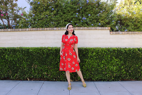 Paisley Raye Dahlia Dress Southern California Belle