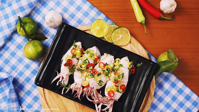 Thai Spicy and Sour Squid Recipe