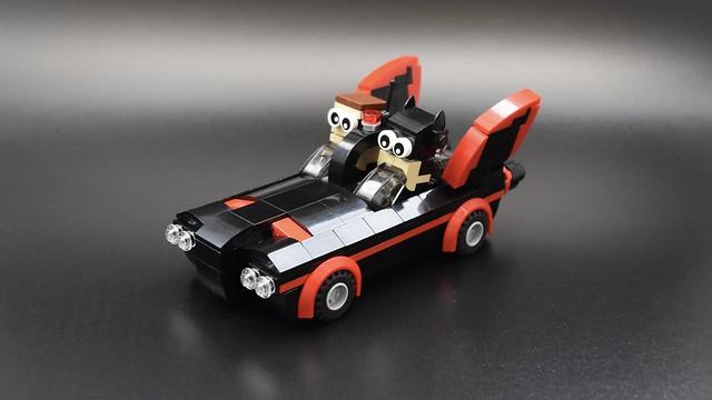LEGO Batmobile Batman 66 chibi