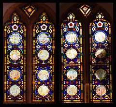 north and south chancel windows