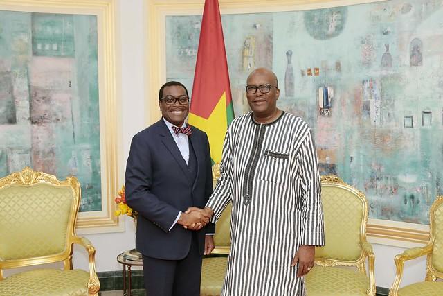 Visite officielle du Président de la BAD au Burkina Faso