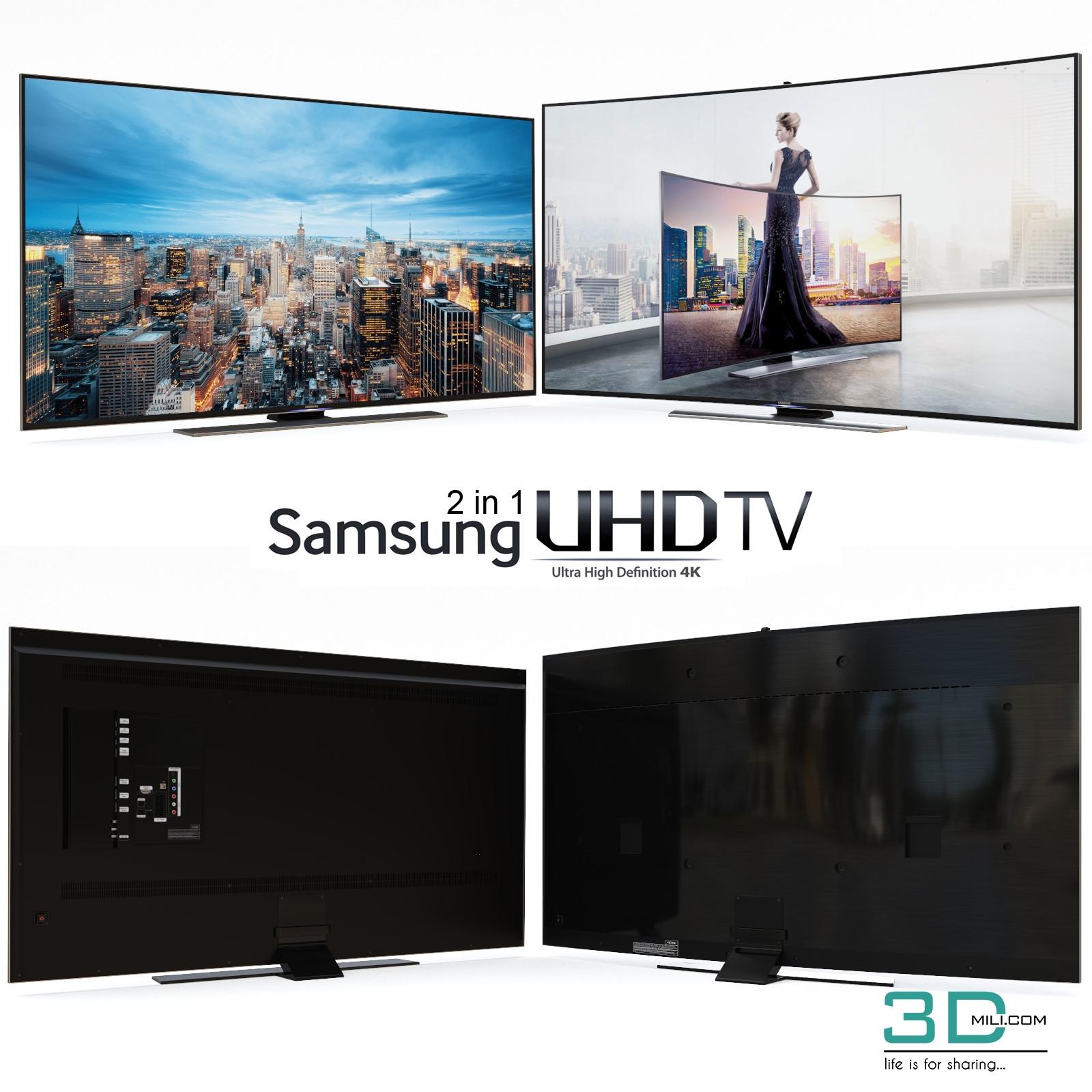 Model Television 3dmili 2020 Download 3d Model Free