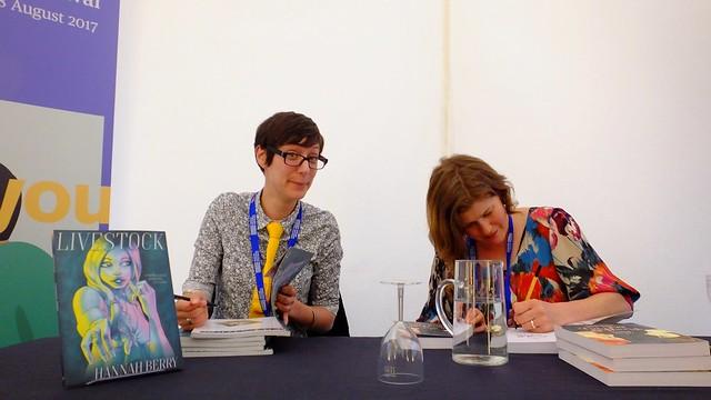 Edinburgh International Book Festival 2017 - Hannah Berry & Sarah Laing 03