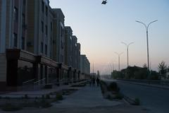 Street in the very modern city of Nukus