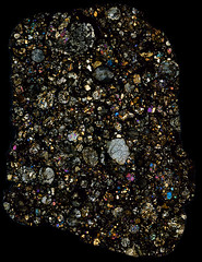 NWA 960 Meteorite Thin Section