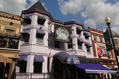 Purple Building - Club Heaven and Hell 1