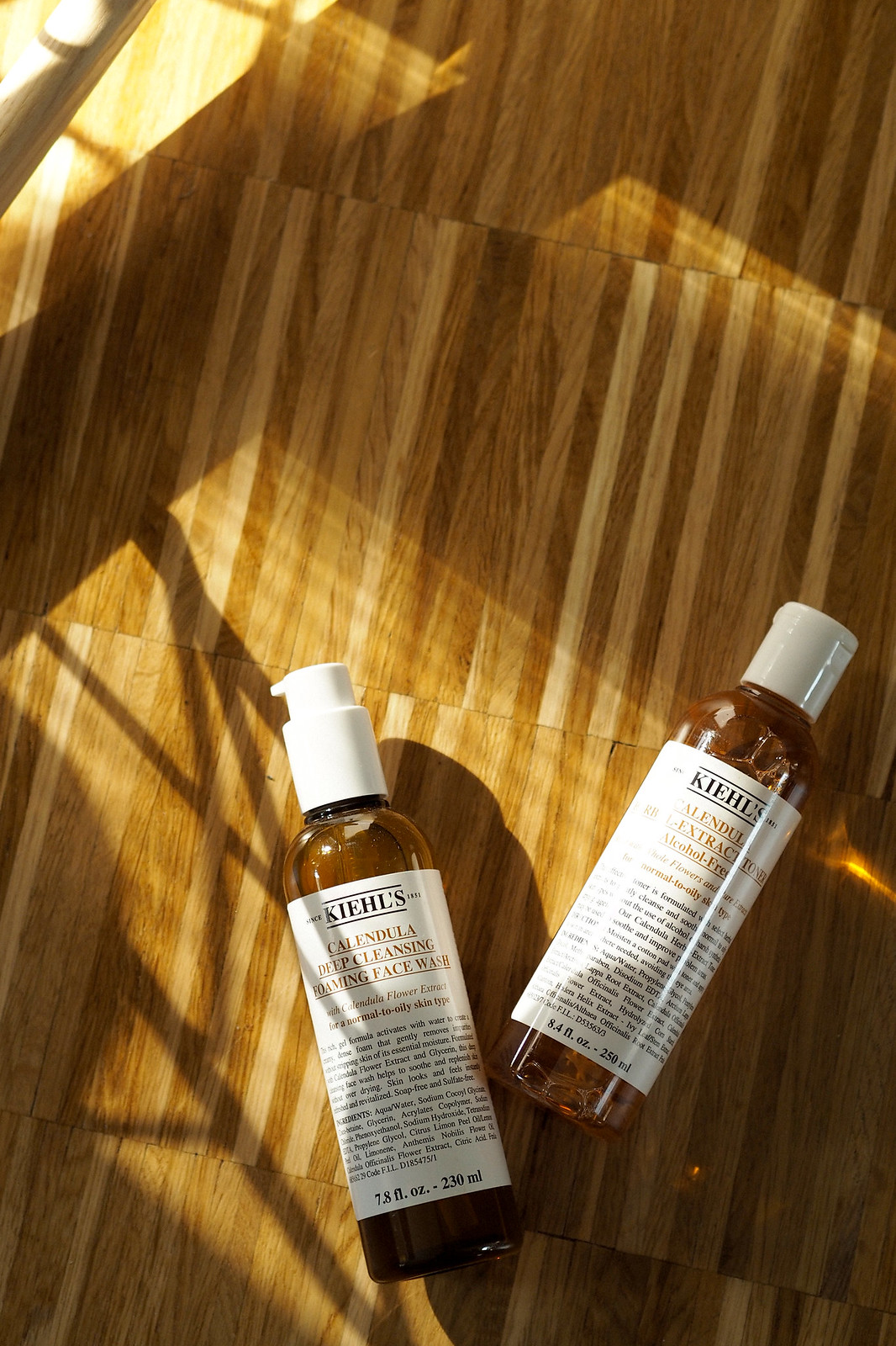 kiehl's morning routine beauty beautyblogger golden light amber beautiful wood calendula cleansing moisturizing mask skincare apothecary video blogger vlogger cats & dogs beautblog ricarda schernus düsseldorf max bechmann fotografie film nrw blog 2