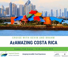 Join us. Visit the Frank Gehry-designed Biomuseo during our Panama City overnight stay. Limited space. Book now. | http://tinyurl.com/y86aeo98 #InspiredQuests #cruise #azamaraclubcruises #azamaraquest