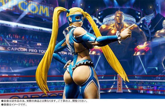 巨臀現身!!S.H.Figuarts 快打旋風【彩虹美華】Street Fighter Rainbow Mika レインボー・ミカ