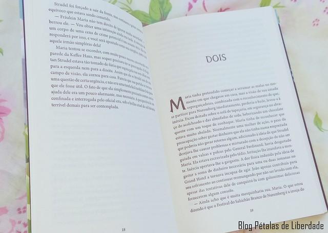 Livro Maria e o caso das gravuras desaparecidas, P J Brackston (3)