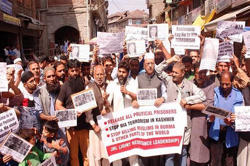 JKLF Protest
