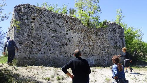 Parco Cosilinum, Ruderi antica torre di Romana
