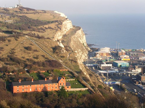 Start of Dover to Deal walk