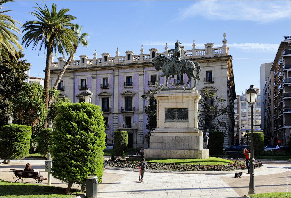 Статуя Хайме I Завоевателю