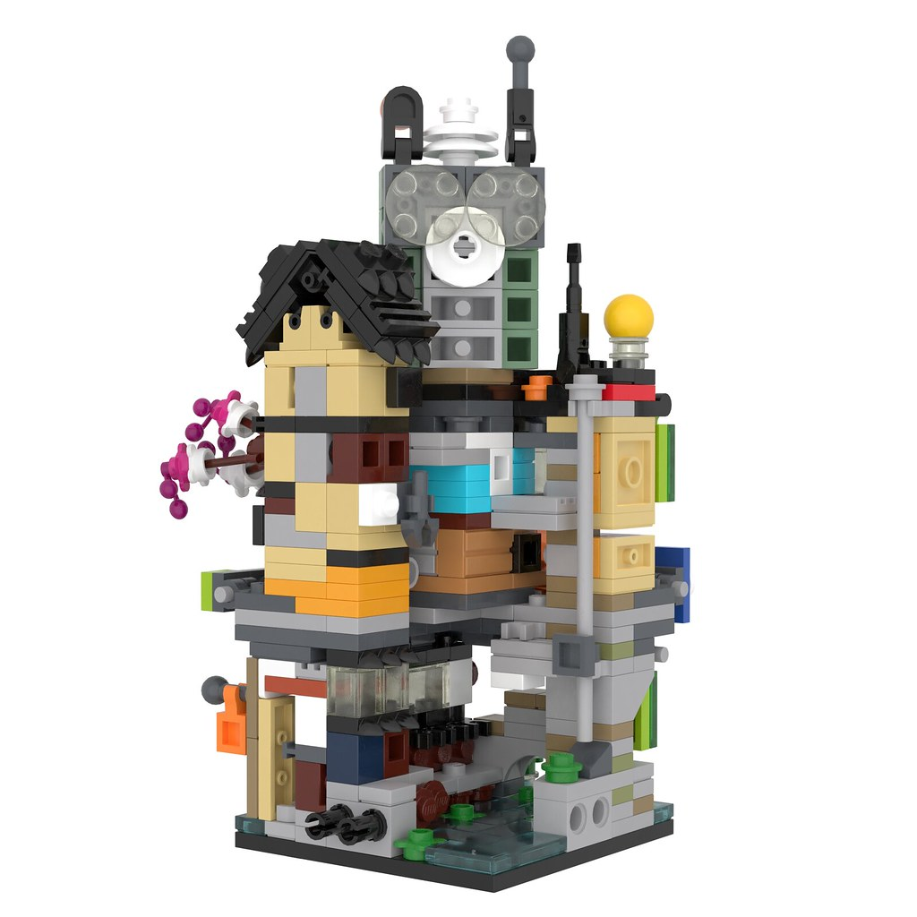 70620 - Ninjago City (Mini Modular)