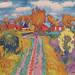 Johan Dijkstra - Farms in a Groningen Landscape (1928) by Cosmovisão Alternativa