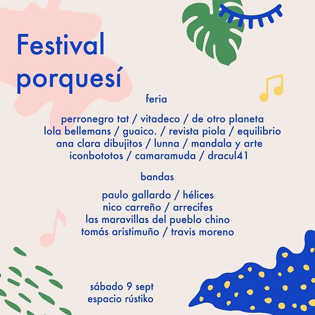 Festival Porquesí