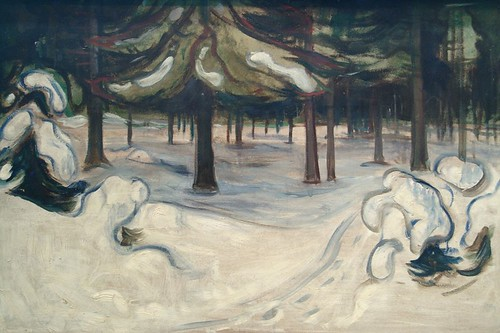 E. Munch.winter