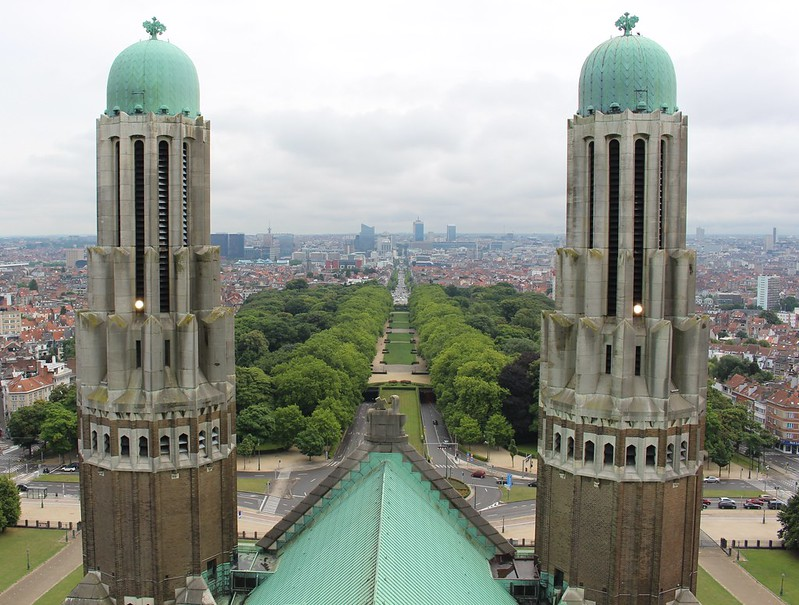 Brussels - view from National Basilica