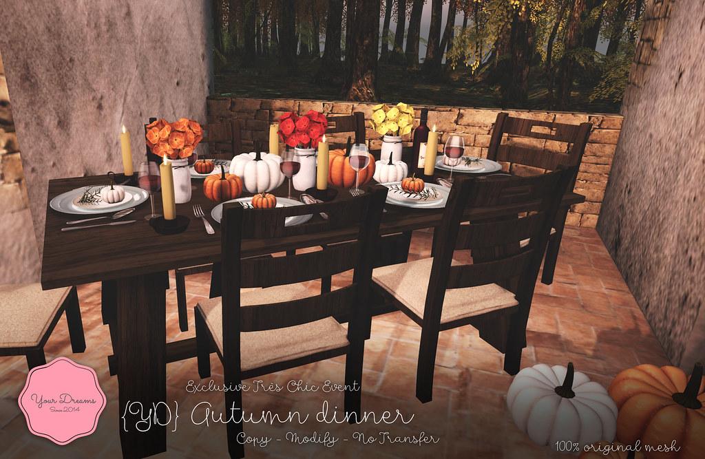 {YD} Autumn dinner - TeleportHub.com Live!