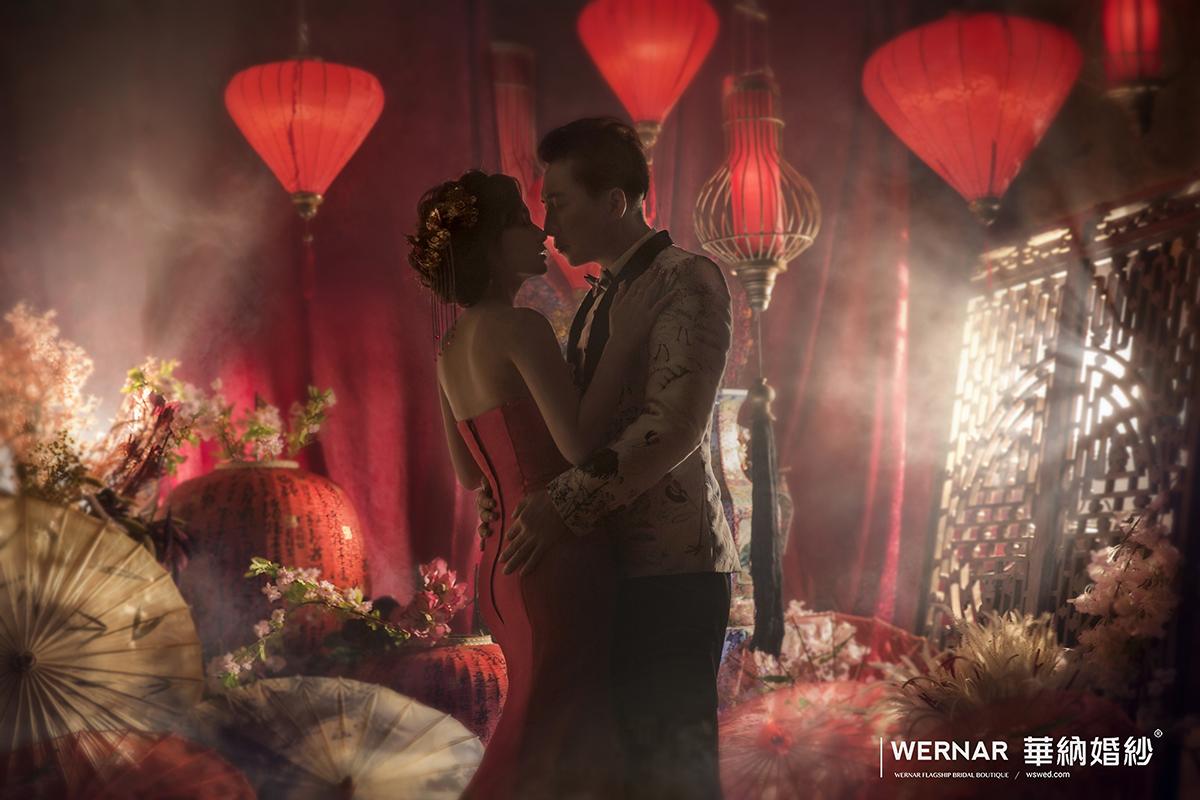 台中華納婚紗推薦,婚紗攝影,自主婚紗,婚紗照,旗袍婚紗