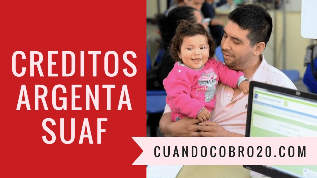Créditos ARGENTA a Asignaciones Familiares