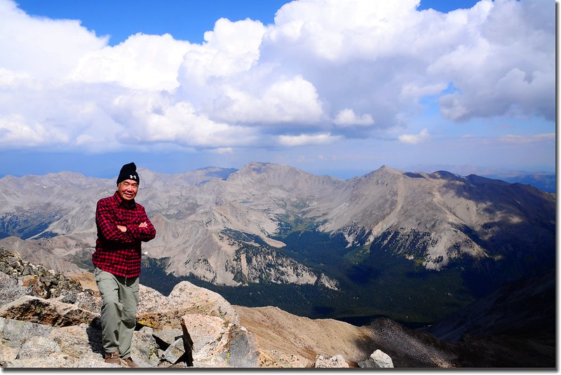 Taken from the summit of Mount Yale 5