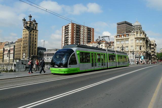Bilbao Tram, Panasonic DMC-FZ18