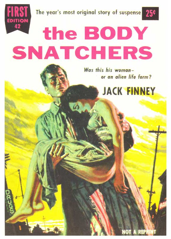 Invasion of the Body Snatchers - Book Cover 1